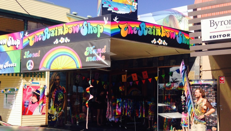Byron rainbow shop