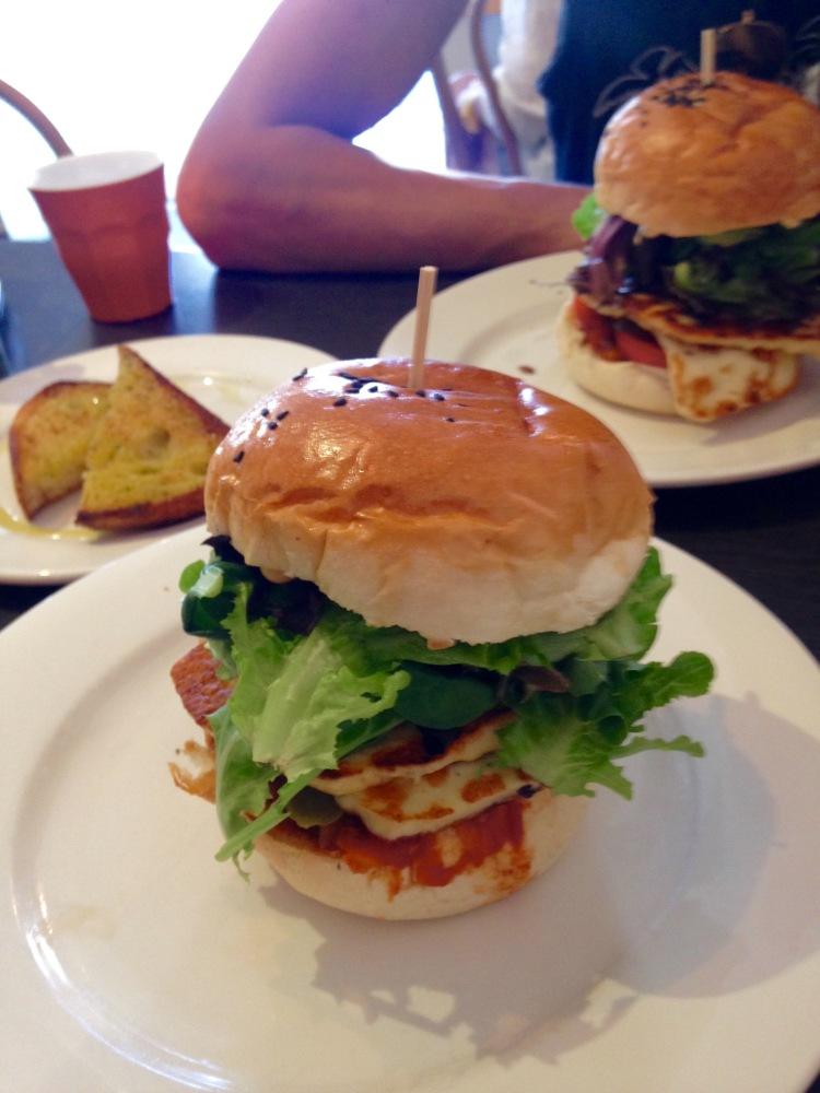 Haloumi burgers byron