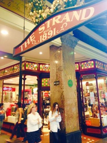 shops strand arcade