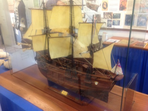 Model of the Endeavour