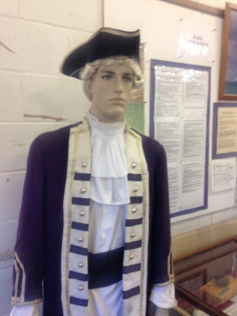 Model of Captain Cook