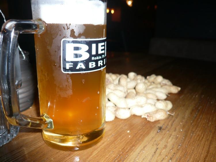 Beer peanuts