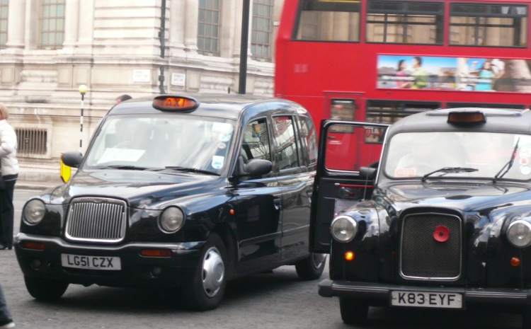 Black taxis