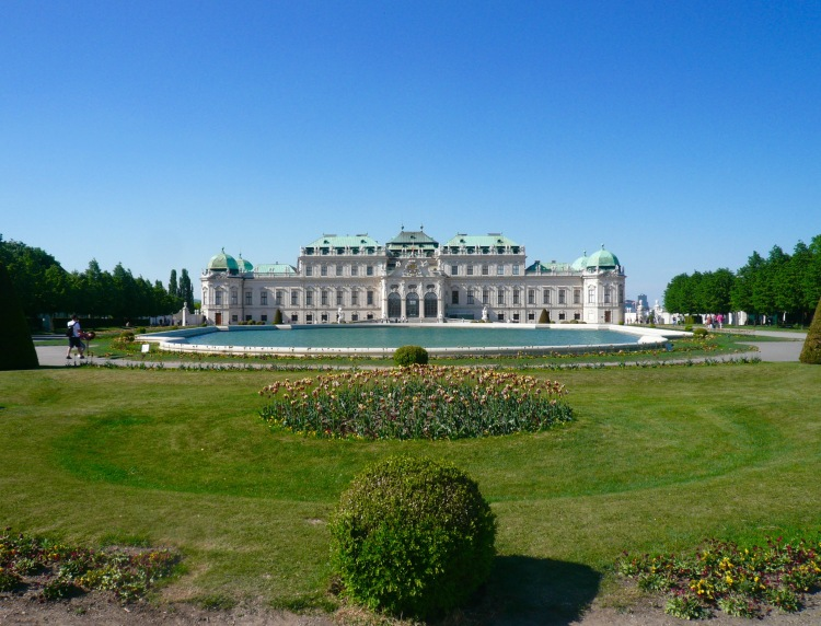 Schloss Belvedere winter palace