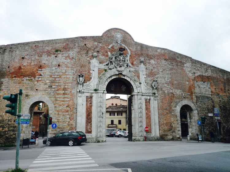 Siena city gate