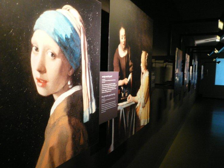 Vermeer's studio