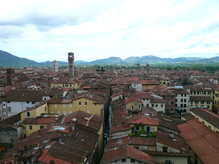 View of luca from tower