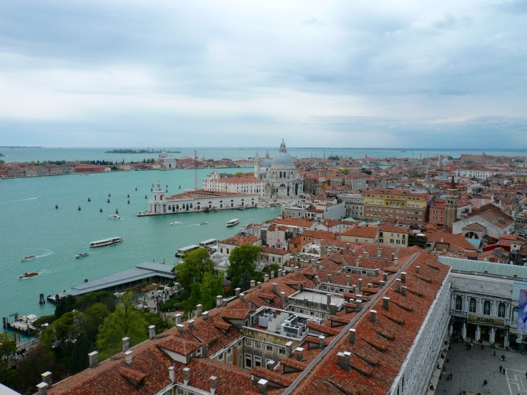 View of venice from clocktower