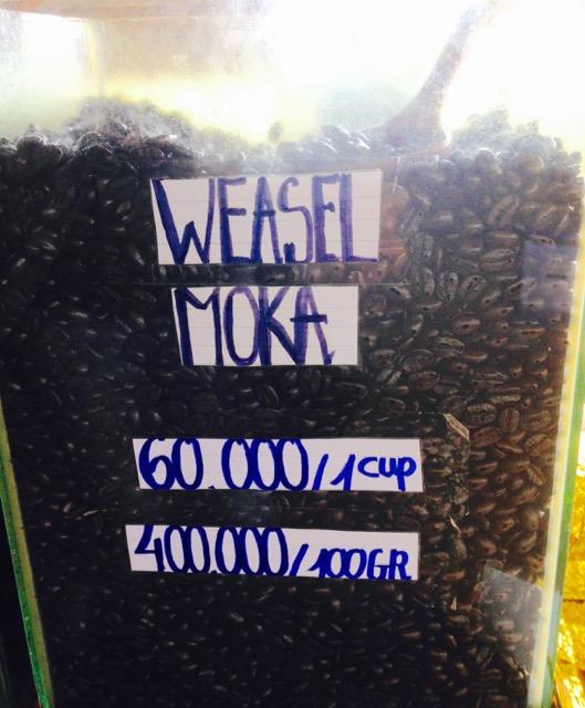 weasel moka