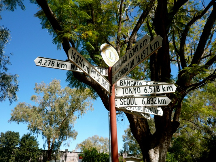 Alice springs signage