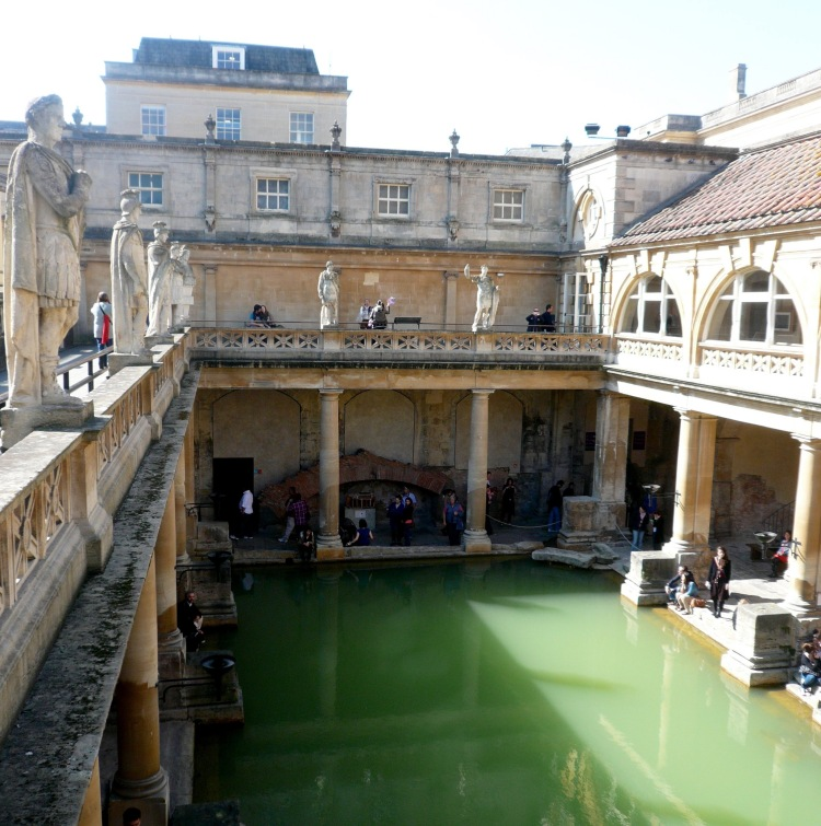 Bath - roman baths