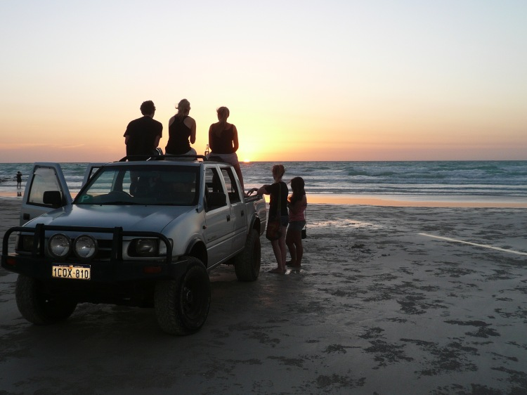 Cable beach beers four wheel