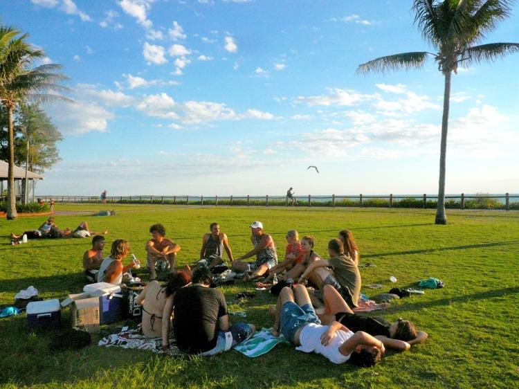 Cable beach picnics