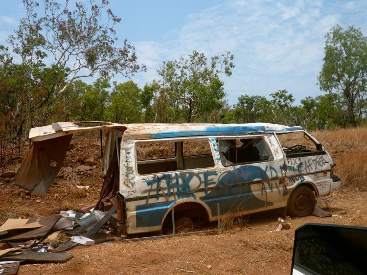 Dead van