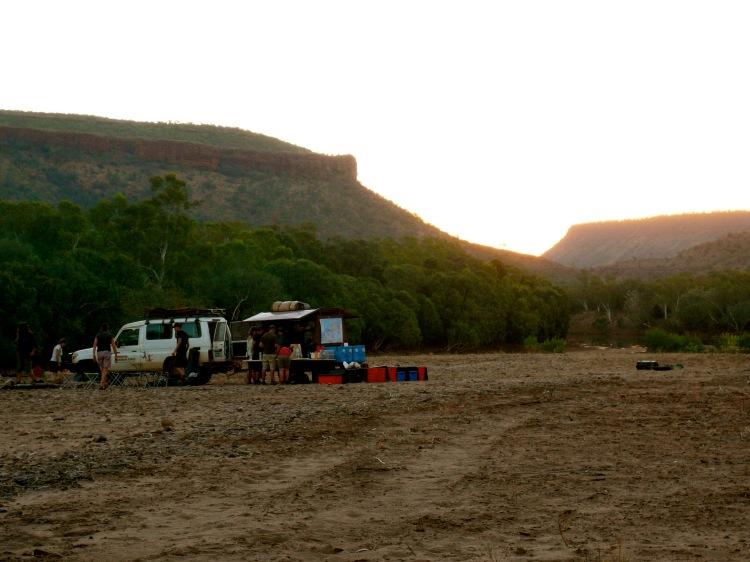 River camping 3