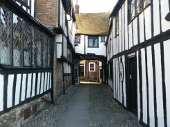 Exploring villages in England