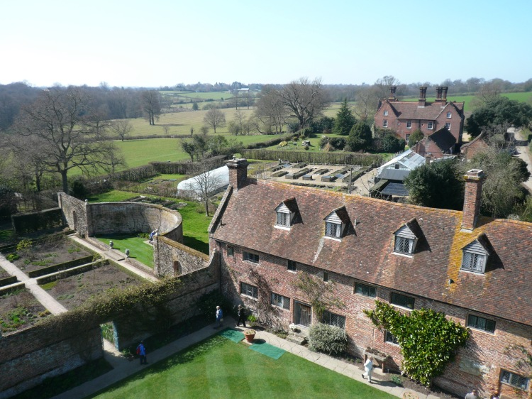Sissinghurst Castle View