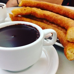 Churros in Spain