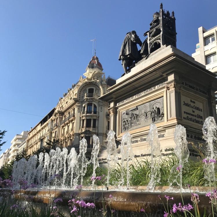 City square fountain